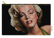 Marilyn Monroe 2 Carry-all Pouch by Paul Meijering