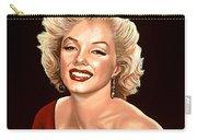Marilyn Monroe 3 Carry-all Pouch by Paul Meijering