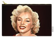 Marilyn Monroe 3 Carry-all Pouch by Paul Meijering