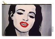 Marilyn Monroe Aka Norma Jean Artistic Impression Carry-all Pouch