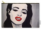 Marilyn Monroe Aka Norma Jean The Beginning Carry-all Pouch