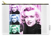 Marilyn Monroe Art Collage Carry-all Pouch