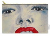 Marilyn Monroe Carry-all Pouch by David Patterson
