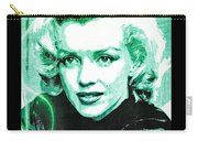 Marilyn Monroe - Green Carry-all Pouch