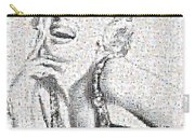 Marilyn Monroe In Mosaic Carry-all Pouch