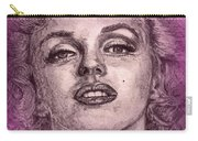 Marilyn Monroe In Pink Carry-all Pouch