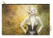 Marilyn Monroe In Points Carry-all Pouch