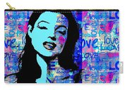 Marilyn Monroe.  Loved And Lost. Loved Again Carry-all Pouch