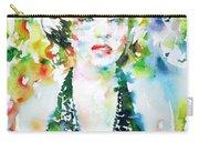 Marilyn Monroe Portrait.1 Carry-all Pouch