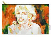 Marilyn Monroe Portrait.9 Carry-all Pouch