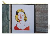 Marilyn Monroe Carry-all Pouch by Rob Hans