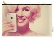Marilyn Monroe Selfie 1 Carry-all Pouch