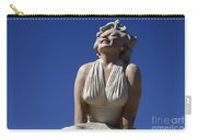 Marilyn Monroe Statue 2 Carry-all Pouch