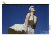 Marilyn Monroe Statue 3 Carry-all Pouch