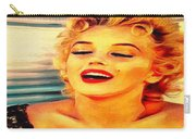 Marilyn Monroe Tribute Silked Curves Carry-all Pouch