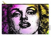 Marilyn Monroe Under Spotlights Carry-all Pouch
