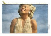 Marilyn Monroe Watercolor Carry-all Pouch