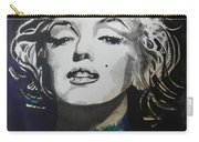 Marilyn Monroe..2 Carry-all Pouch by Chrisann Ellis