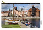 Marina And Old Town Of Gdansk Skyline Carry-all Pouch