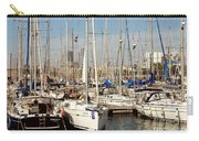 Marina At Port Vell Barcelona Carry-all Pouch