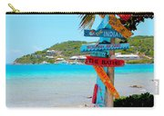 Marina Cay Sign Carry-all Pouch
