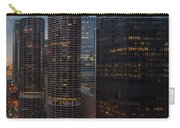 Marina City And A M A Plaza Chicago Carry-all Pouch