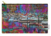 Marina W Vivid Abstract Carry-all Pouch