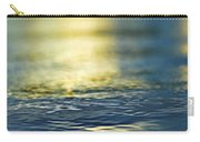 Marine Blues Carry-all Pouch by Laura Fasulo