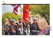 Marine Color Guard - Paint Carry-all Pouch