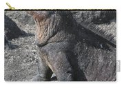 Marine Iguana  Amblyrhynchus Cristatus Carry-all Pouch