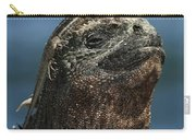 Marine Iguana And Lava Lizard Carry-all Pouch