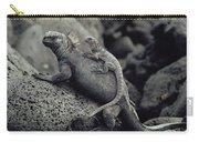 Marine Iguanas Galapagos Islands Carry-all Pouch