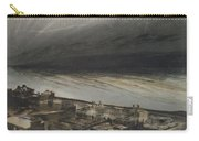 Marine Terrace In Jersey Carry-all Pouch by Victor Hugo