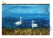 Marion Lake Swans Carry-all Pouch