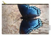 Mariposa Azul Carry-all Pouch