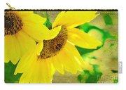 Mark Twain's Sunflowers Carry-all Pouch