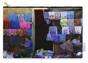 Market At Santiago Atitlan Guatemala Carry-all Pouch