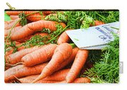 Market Carrots By Diana Sainz Carry-all Pouch