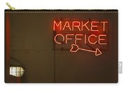 Market Office To The Right Carry-all Pouch