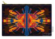Marking Time Into Space Abstract Spiritual Artwork Carry-all Pouch