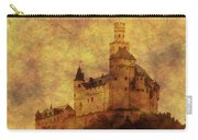 Marksburg Castle In The Rhine River Valley Carry-all Pouch