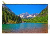 Maroon Bells In Color Carry-all Pouch