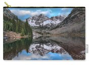 Maroon Bells Sunrise Carry-all Pouch