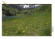 Maroon Bells Watercolor Carry-all Pouch