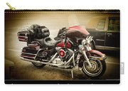 Maroon Electra Glide Classic Carry-all Pouch