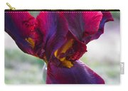 Maroon Iris Carry-all Pouch