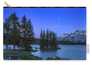 Mars Over Mt. Rundle Carry-all Pouch