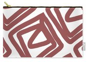 Marsala Envelopes- Abstract Pattern Carry-all Pouch