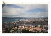 Marseille View From Cathedral Notre Dame De La Garde Carry-all Pouch