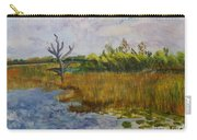 Marsh At Green Cay Carry-all Pouch